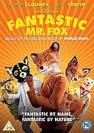 Fantastic Mr Fox Dvd Roald Dahl Childrens Kids Family Classic Book Film New Ebay