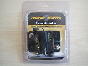 60 amp circuit breaker trolling motor minn kota mkr 19 for Trolling motor circuit breaker installation