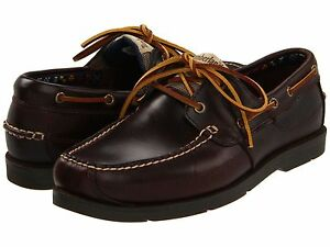 Men-039-s-Timberland-Earthkeepers-Kia-Wah-Bay-Boat-Shoe-Brown-Pull-Up-Leather-5230R