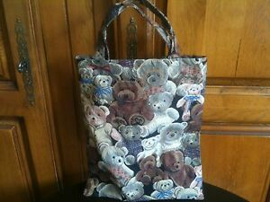 Sac Cabas Tricot Ouvrage Couture Loisirs A Nounours 4fqBw4zFrS