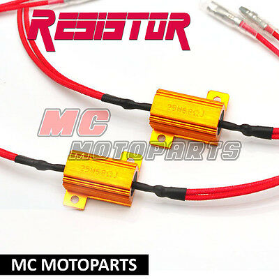 Turn Signal Light Load Resistor Blinker Set Relay For LED Signal Light