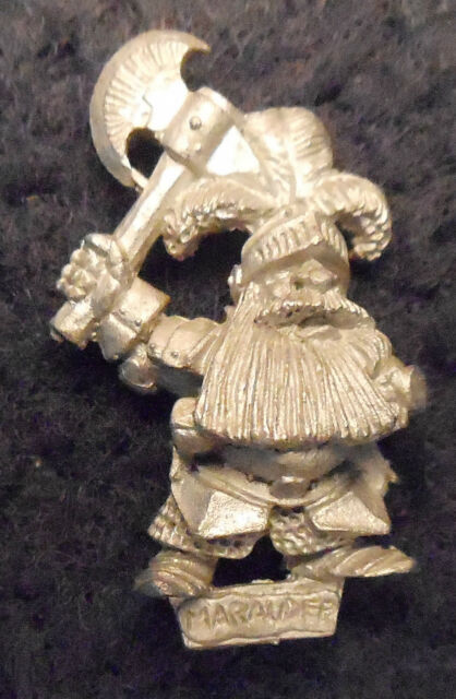 1992 Marauder Dwarf Iron Breaker 5 Citadel Warhammer Iron Breakers MM16 88093 GW