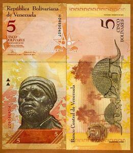 Venezuela-5-Bolivares-2008-Pick-89-UNC