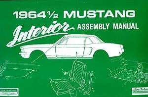 1964-1-2-FORD-MUSTANG-INTERIOR-ASSEMBLY-MANUAL