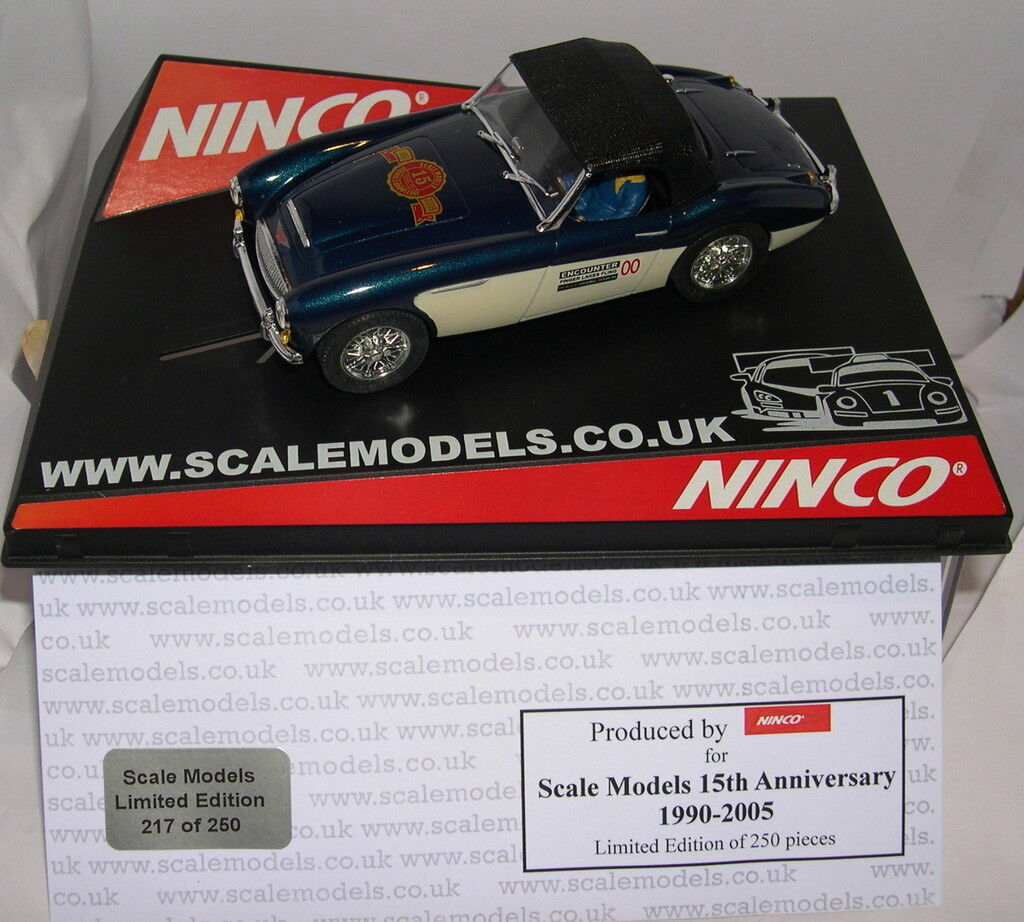 NINCO 50258 50258 50258 AUSTIN HEALEY  SOFT TOP  SCALE MODELS 15 ANNIVERSARY LTED.ED MB  lo último