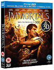 Immortals (3D Blu-ray, 2012, 3-Disc Set)