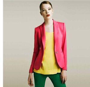 2012-NEW-Zara-A-buckle-Slim-Casual-Suit-Jacket-Blazer-4-Colors