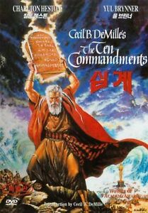 The-Ten-Commandments-1956-2-Disc-Edition-New-Sealed-DVD-Charlton-Heston