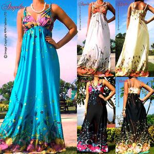 NEW-NWT-Floral-Evening-Summer-Women-Sexy-Long-Maxi-dress-Size-M-XXXL-CA