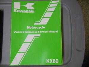 Kawasaki-Factory-Service-Repair-Shop-Manual-1983-KX60A1-KX60-A1