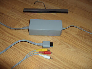 Image Is Loading Nintendo Wii Sensor Bar Supply And Av