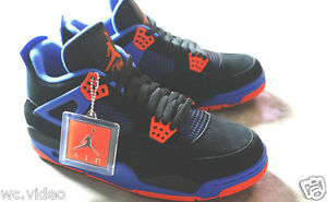 Nike-Air-Jordan-Retro-4-IV-Cavs-Cavaliers-Black-Orange-Blaze-Old-Royal-in-hand
