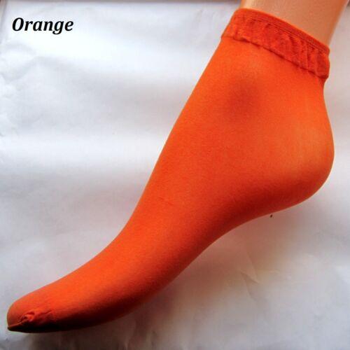 Farben WEICH Socken Universalgröße Neu 10 PAAR SÜßE SOMMER Söckchen in versch