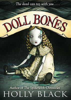 Doll Bones, Black, Holly, Used; Good Book