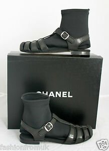 12A-SPRING-SUMMER-CHANEL-JELLY-SANDALS-WITH-SOCKS-SZ-36