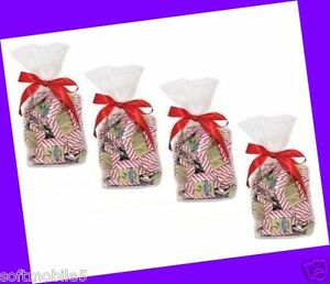 100-COUNT-4-Gift-Bags-Ghirardelli-Milk-Chocolate-Candy-Squares-Peppermint-Bark