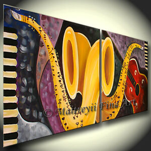 Music Painting, Guitar PAINTINGS, ABSTRACT ART, MODERN Art ...