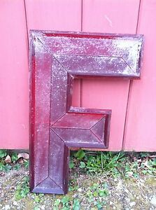 Large-Vintage-Movie-Theatre-Marquee-Red-Translucent-17-Tall-Letters