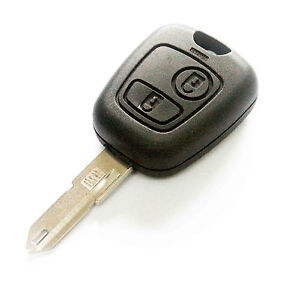 PEUGEOT-206-2-BUTTON-REMOTE-KEY-FOB-CASE-BLADE-NEW