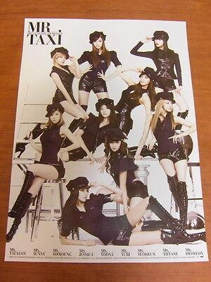 SNSD GIRLS' GENERATION - 3rd Mr. Taxi [OFFICIAL] POSTER K-POP *NEW*