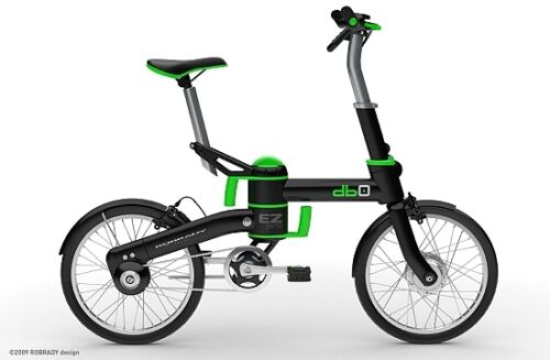 db-0 Power Assist Electric Folding e-Bike