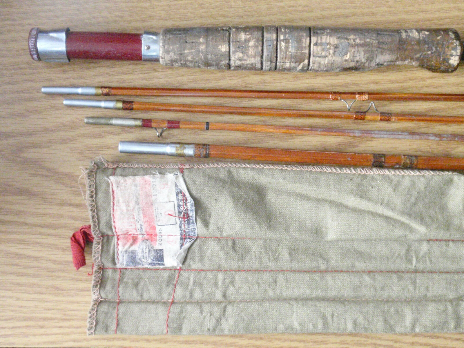 1- SouthBend  Bamboo Fly Rod  @ 8-1 2'
