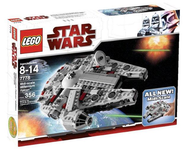 Lego Star Wars Halcón Milenario MIDI Escala (7778)