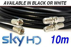 BLACK-10m-TWIN-Satellite-Coaxial-Extension-Cable-suitable-for-Sky-and-Sky-HD