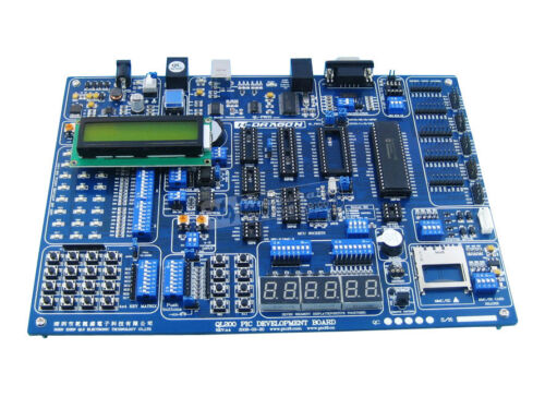 QL200 PIC16F877 PIC Evaluation Development Board Kit + PIC16F877A-I/P + LCD1602