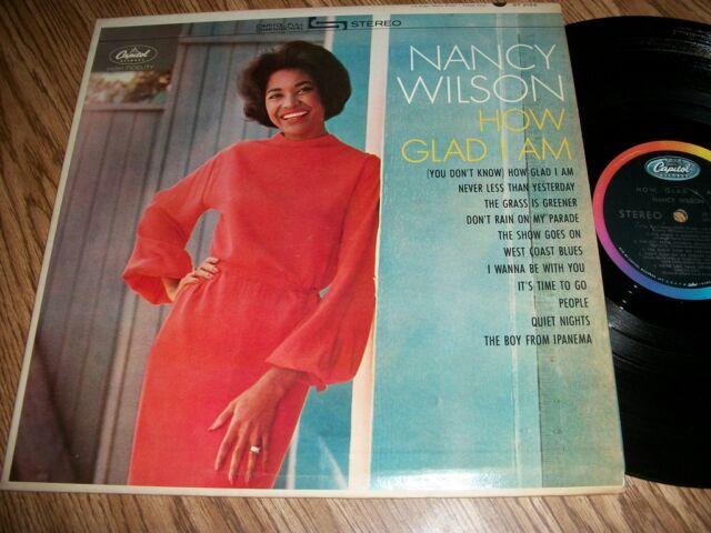 NANCY WILSON - HOW GLAD I AM - CAPITOL ST2155