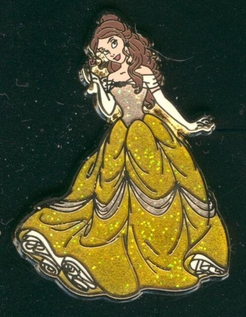 Princess Belle Glitter Dress Beauty And The Beast Disney Pin 93360
