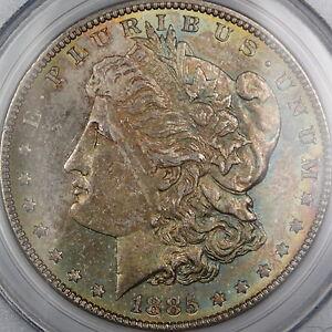 1885-Morgan-Silver-Dollar-PCGS-MS-63-Beautifully-Toned