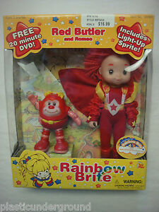 RARE-NEW-RAINBOW-BRITE-RED-BUTLER-AND-ROMEO-DOLL-W-LIGHT-UP-SPRITE-DVD-TOY-PLAY