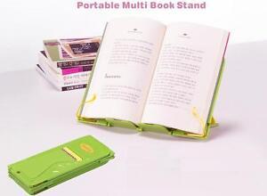 New-portable-bookstand-folding-book-holder-bookrest-lectern