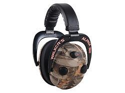 Bob-Walkers-Walker-039-s-Game-Ear-CAMO-360-034-QUAD-ELECTRONIC-MUFFS-PROTECT-ENHANCE