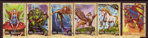 AUSTRALIA-2011-MYTHICAL-CREATURES-SET-OF-6-UNMOUNTED-MINT-MNH