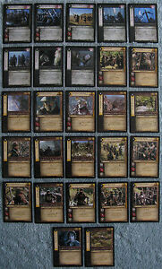 Lord-of-the-Rings-TCG-The-Two-Towers-Rare-Cards-Part-4-5-CCG-LOTR