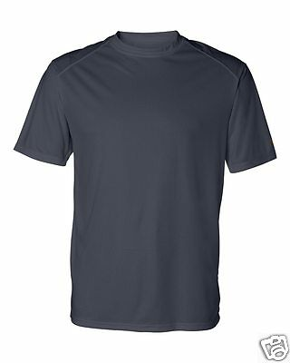 Badger B-Core T-Shirt with Sport Shoulders 4120 S-4XL Moisture Wicking Polyester