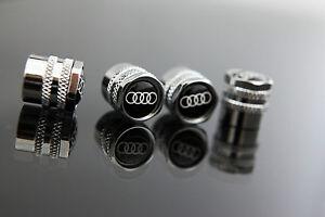 AUDI-WHEEL-VALVE-STEM-CAPS-KITS-FOR-Q5-Q7-QUATTRO-R8-RS4-RS5-RS6-S3-S4-S5-S6-S7