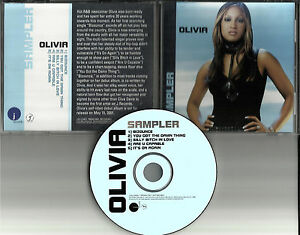 OLIVIA-Ultra-Rare-5-Track-SAMPLER-PROMO-Radio-DJ-CD-Single-2001-MINT-Condition