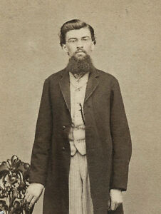 Eyeglass Frames In Lancaster Pa : CIVIL WAR ERA FULL-LENGTH CDV PHOTO PORTRAIT OF MAN IN ...