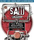 Saw: The Final Chapter (Blu-ray/DVD, 2011, 2-Disc Set, Canadian Includes Digital Copy)