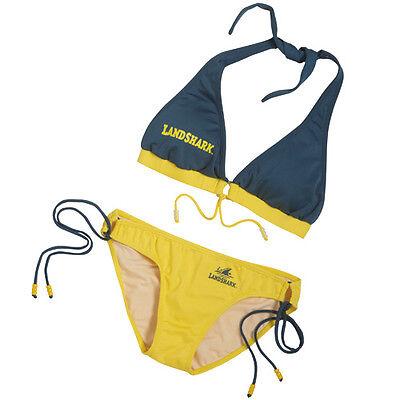 LandShark Ladies Bikini Polyester & Spandex Blend w Spaghetti-Strap Ties