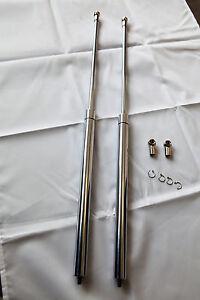 Unique-Chrome-Bonnet-Struts-For-Holden-HSV-VN-VP-VQ-Series-Sedan-Ute-Wagon