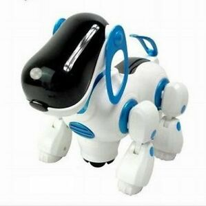 I-ROBOT-ELECTRONIC-ROBOTIC-PET-DOG-WALKING-PUPPY-KIDS-CHILDREN