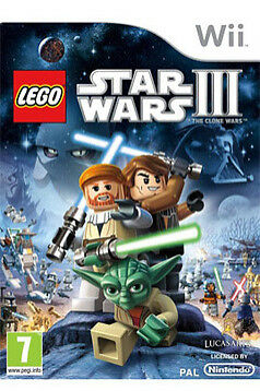 Lego Star Wars 3 The Clone Wars for Nintendo Wii & Wii U - DISC ONLY, Action