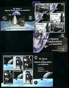 Gambia 3148-3153,MNH, Space x1238