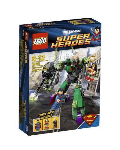 LEGO SUPER HEROES SUPERMAN VS Power Armor Lex  6862  NUOVO + OVP