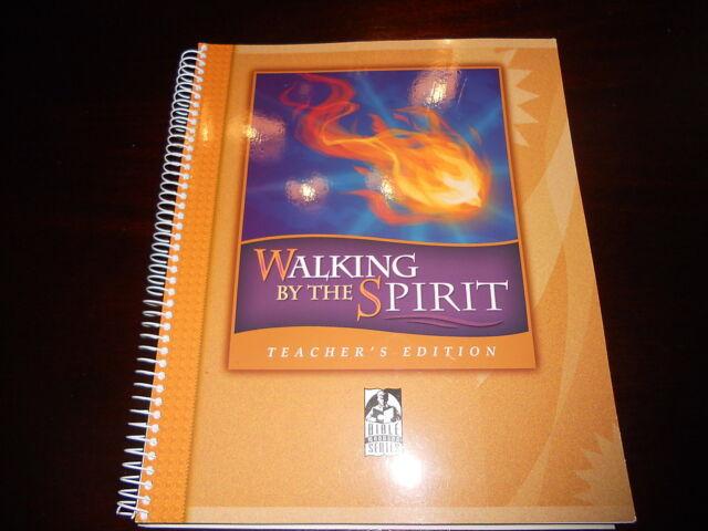 Bob Jones Bible 9-12th grade WALKING BY THE SPIRIT Teacher guide homeschool BJU
