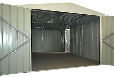 Garden Shed, 3.4m x 5m, Steel, Workshop